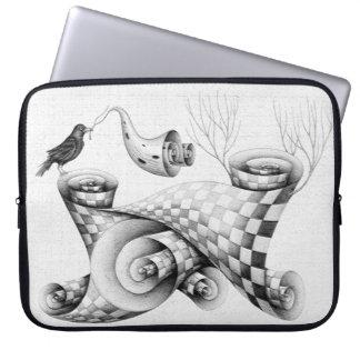 Crow Laptop Sleeve