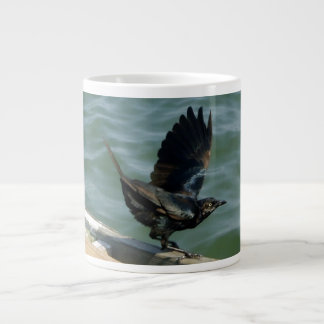 Crow Large Coffee Mug