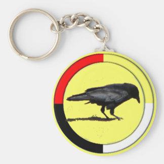 Crow Medicine keychain