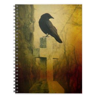 Crow On Cross Notebook