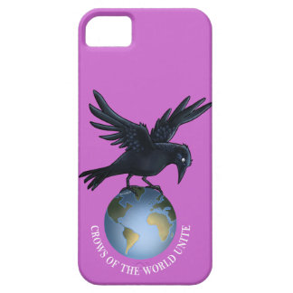 Crow on Top of the World - Case Mate iPhone 5