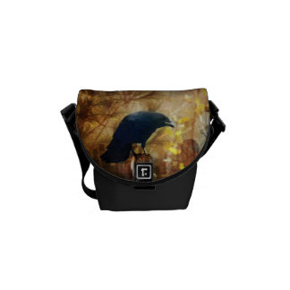 Crow/Raven Photo Courier Bag