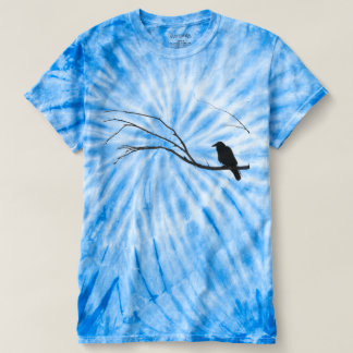 Crow Raven Sitting in Tree T-shirt