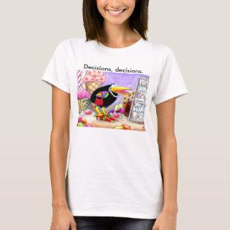 Crow shopping tee shirt