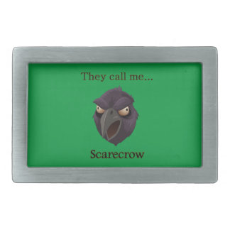 Crow They call me...Scarecrow Belt Buckles