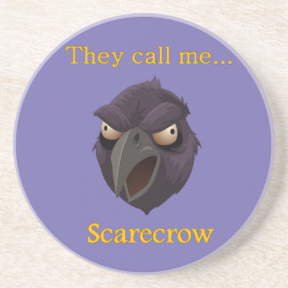 Crow They call me...Scarecrow Beverage Coaster