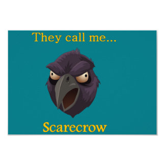 Crow They call me...Scarecrow Card