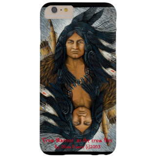 'Crow Warrior' as the crow flies Barely There iPhone 6 Plus Case