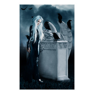 Crow Witch Poster