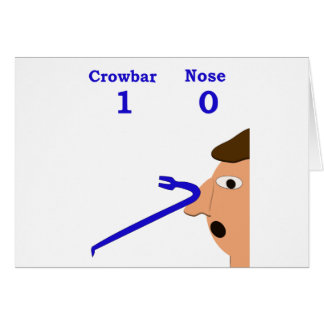 crowbar nose 2 card