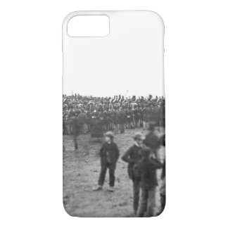 Crowd at Gettysburg, November 19_War Image iPhone 8/7 Case