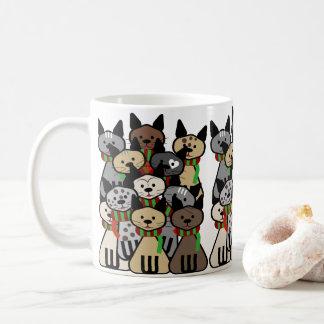 Crowd of Cats Coffee Mug