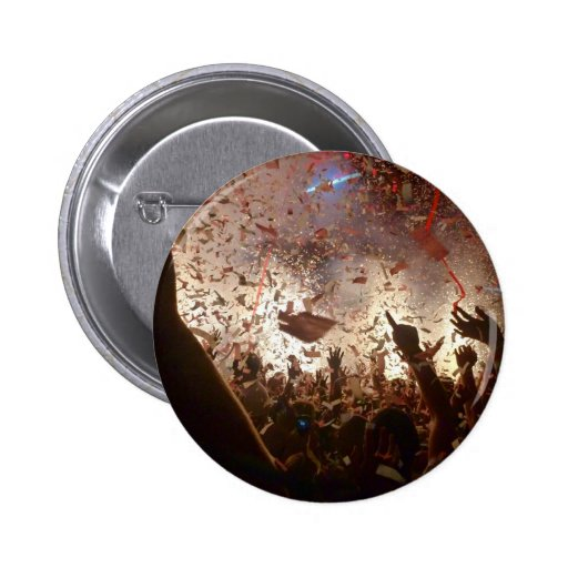 Crowd partying button