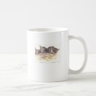 Crowded Nest Classic White Coffee Mug