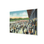 Crowds at Saratoga Race Track & Clubhouse Canvas Print