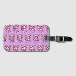 Crowe pin Khufu of three hearts 2 Luggage Tag