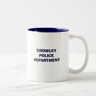 CROWLEY POLICE DEPARTMENT MUG