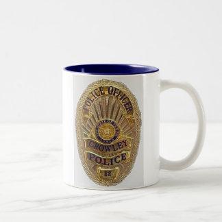 Crowley Police Mug