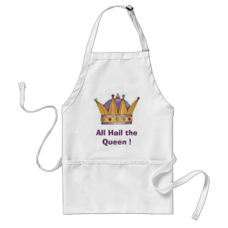 crown, All Hail the Queen ! Standard Apron