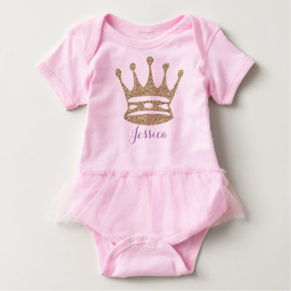 Crown Baby Bodysuit