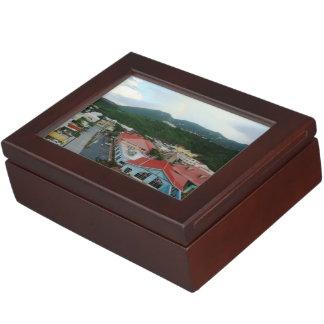 Crown Bay St. Thomas, USVI Keepsake Box