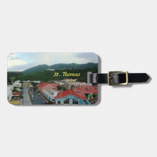 Crown Bay, St. Thomas, USVI Luggage Tag
