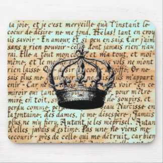 Crown Calligraphy Mousepad