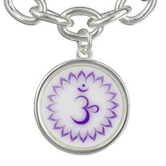 Crown Chakra Charm Bracelet
