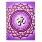 Crown Chakra Pattern Design Notebook