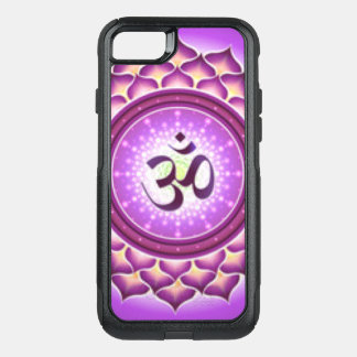 Crown Chakra Pattern Design OtterBox Commuter iPhone 8/7 Case