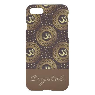 Crown Chakra Pattern Print Design iPhone 7 Case