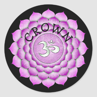 Crown Chakra Stickers