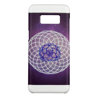 crown chakra vibration Case-Mate samsung galaxy s8 case