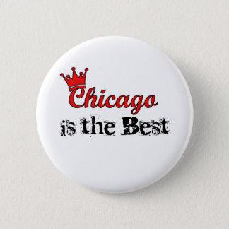Crown Chicago 2 Inch Round Button