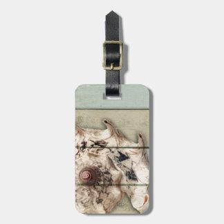 Crown Conch Luggage Tag