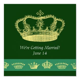 Crown Designs -  Green Card