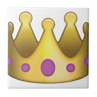 Crown emoji tile