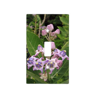 Crown Flower Light Switch Cover
