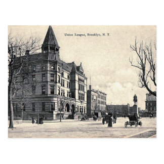 Crown Heights, Brooklyn, NY Vintage Postcard