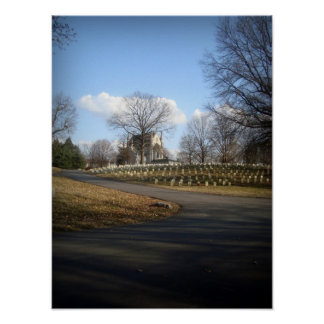 Crown Hill Cemetery Poster