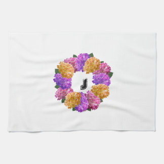 Crown Hydrangea Nice Image Kitchen Towel