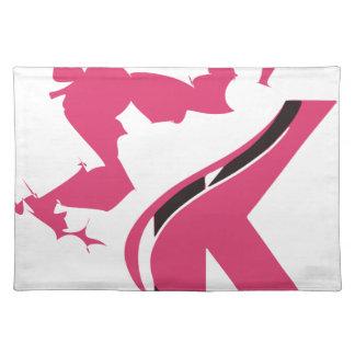 Crown K Logo Design BMI Placemat