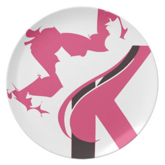 Crown K Logo Design BMI Plate