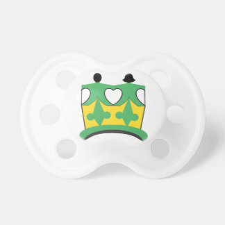 CROWN KIDS  2 BooginHead® Custom Pacifier 0-6 M