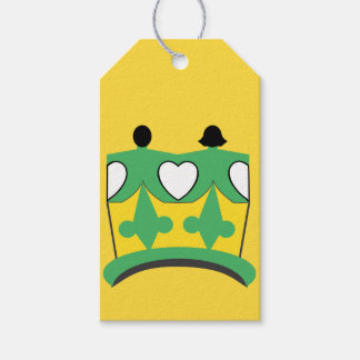 CROWN KIDS CARTOON GIFT TAG MATTE PACK OF GIFT TAGS