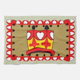 CROWN KIDS RED CARTOON Linen with crockery Kitchen Towels