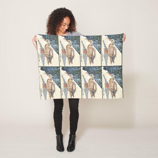 Crown King Duck Fleece Blanket