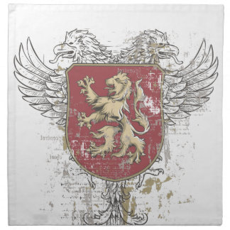 crown lion and the mark napkin