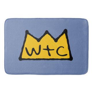 Crown Logo Bath Mat
