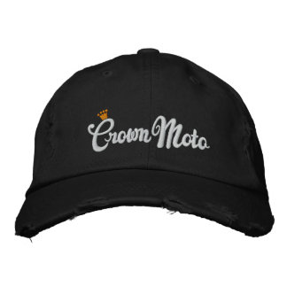 Crown Moto (original script) Embroidered Hat